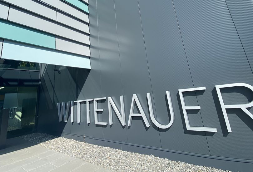 Wittenauer, Sasbach, Metallfassade, Alu-Lamellenfassade