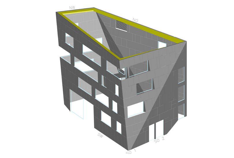 Bild: Modelle Fassadenplanung