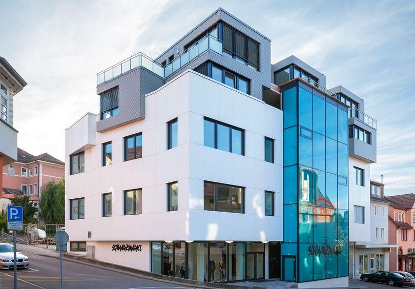Bild: Wohn- und Geschäftshaus Backnang