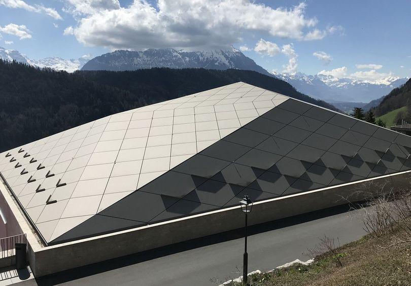 Tennishalle, CH-Bürgenstock