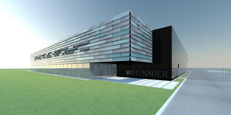 Bild: Neues Visual Gebäude Wittenauer