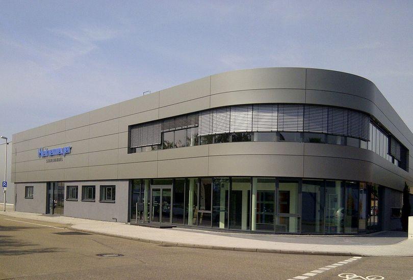 Heinemeyer, Rastatt, Metallfassade, Verbundalu, Reynobond, Arconic GmbH