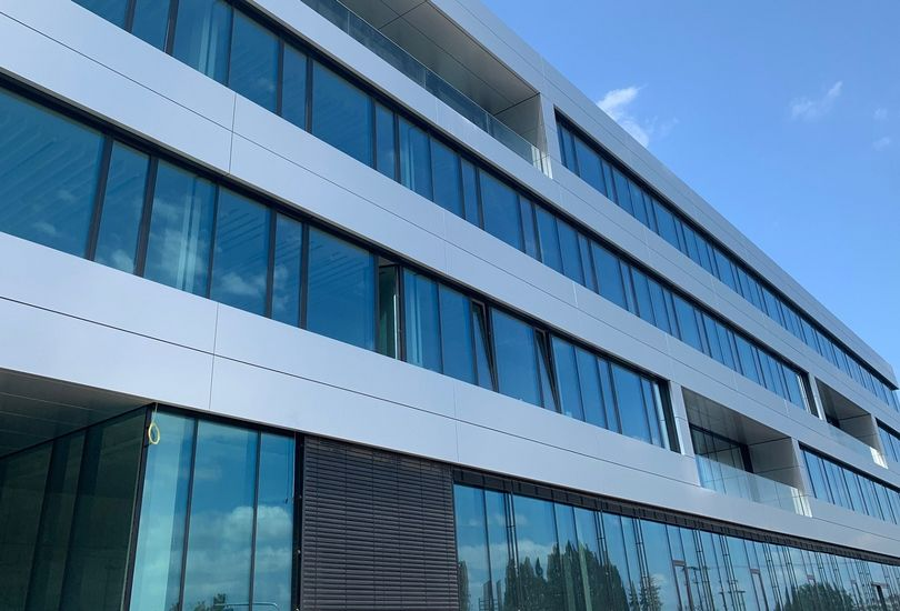 Fischer, Kernen, Metallfassade, Verbundalu, Fassade, Alucobond, 3 A Composites GmbH