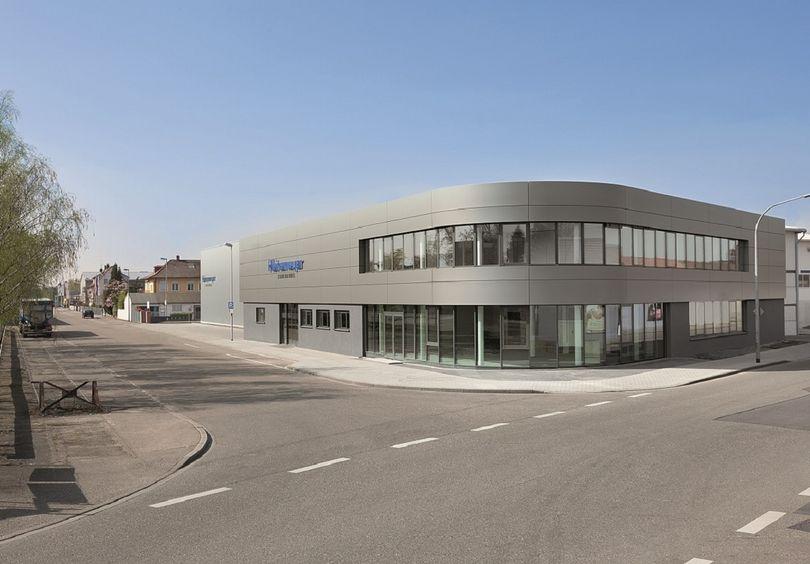 Bild: Gewerbe- und Verwaltungsbau Heinemeyer Rastatt