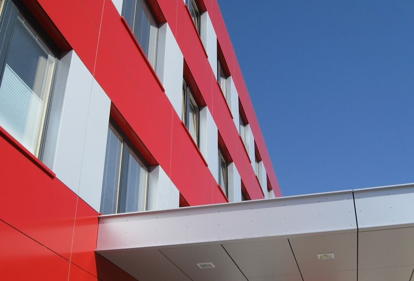 Ärztehaus, Tuttlingen, Metallfassade, Verbundalu, Fassade, Alucobond, 3 A Composites GmbH