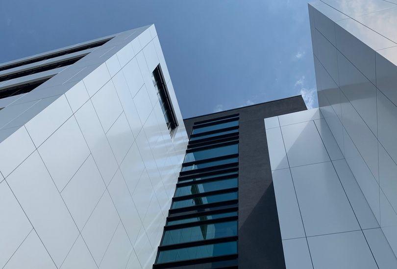 Garmo AG, Stuttgart, Metallfassade, Verbundalu, Fassade, Alpolic, Mitsubishi Polyester Film GmbH