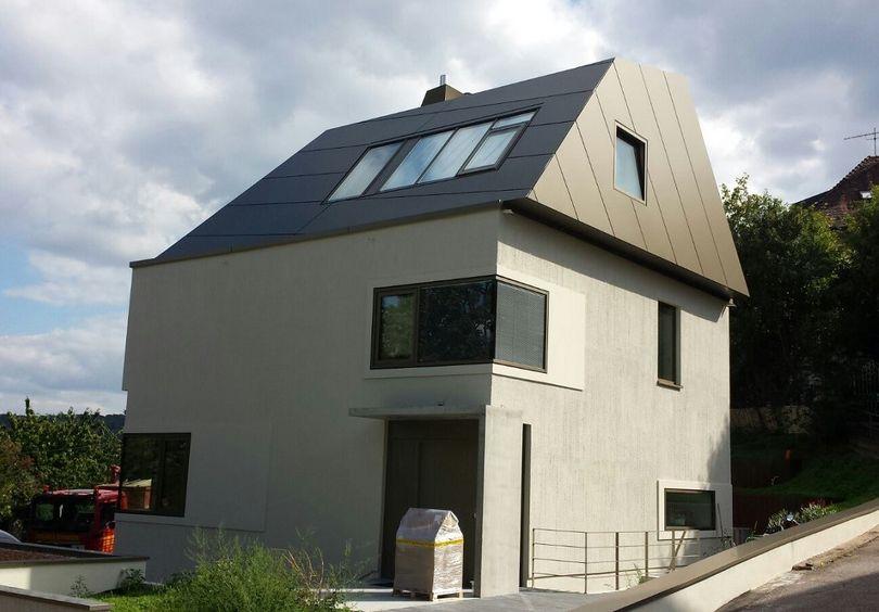 Bild: Aussenansicht Wohnhaus H, Stuttgart