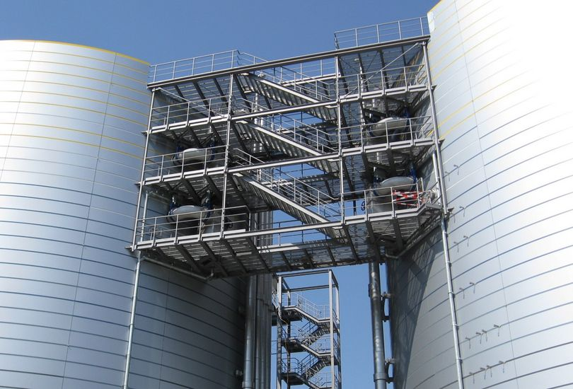 Hauptklärwerk, Mühlhausen, Metallfassade, Verbundalu, Fassade, Alucobond, 3 A Composites GmbH