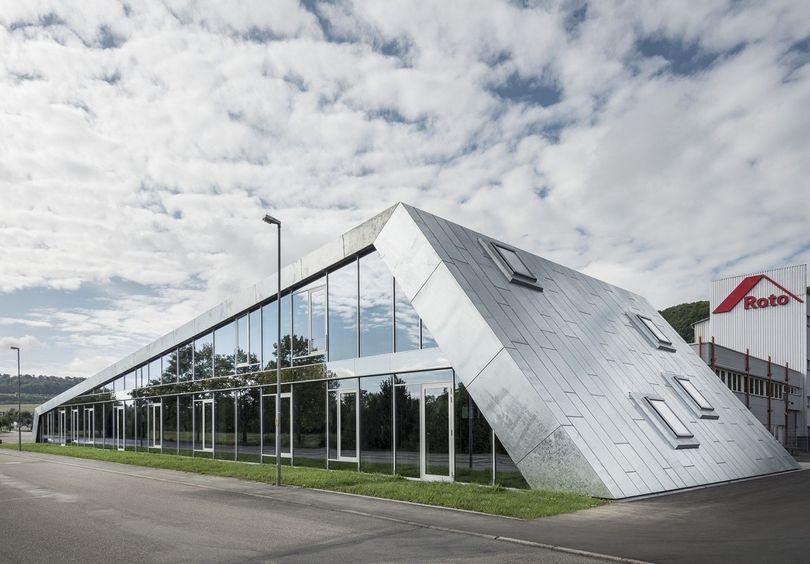 Bild: Gewerbe- und Verwaltungsbau Roto Bad Mergentheim