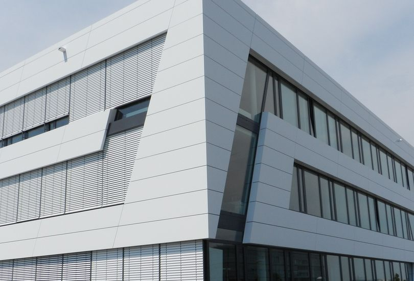 NBV, Neckarsulm, Metallfassade, Verbundalu, Reynobond, Arconic GmbH