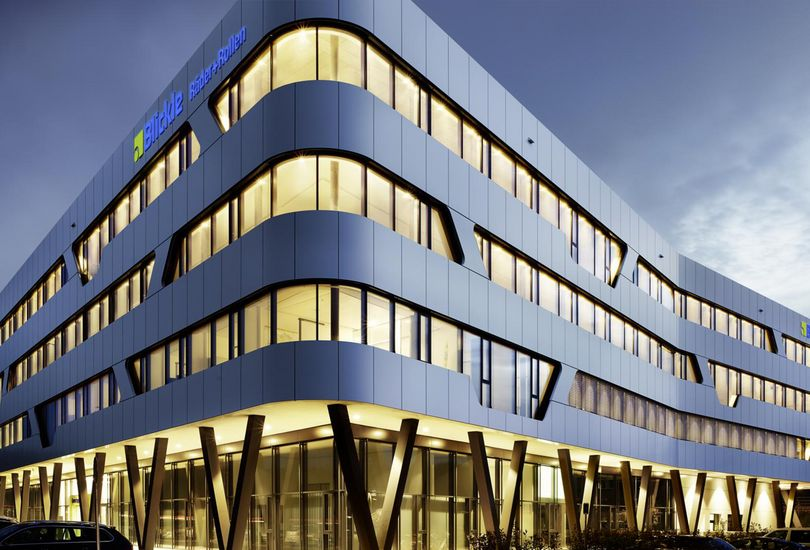 Blickle Lyssach, Metallfassade, Verbundalu, Reynobond, Arconic GmbH
